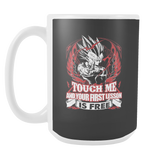Super Saiyan Majin Vegeta Firt Lesson 15oz Coffee Mug - TL00130M5