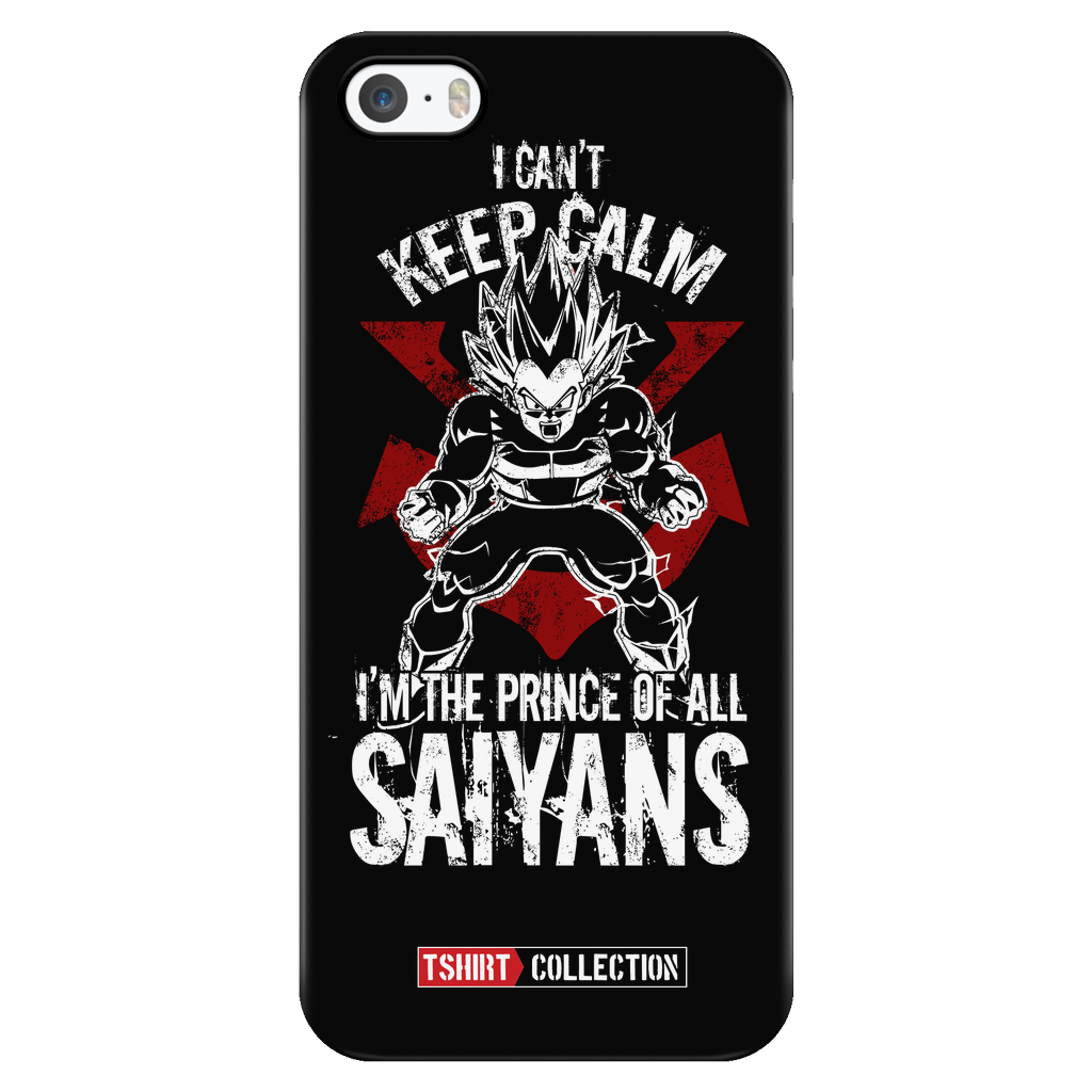 Super Saiyan Vegeta iPhone 5, 5s, 6, 6s, 6 plus, 6s plus phone case -TL00058PC-BLACK