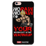 Super Saiyan Vegeta Gym No Pain No Gain iPhone 5, 5s, 6, 6s, 6 plus, 6s plus phone case - TL00443PC-BLACK