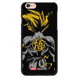 Super Saiyan Goku Back iPhone 5, 5s, 6, 6s, 6 plus, 6s plus phone case -TL00244PC-BLACK