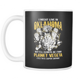 Super Saiyan I May Live in Oklahoma 11oz Coffee Mug - TL00084M1