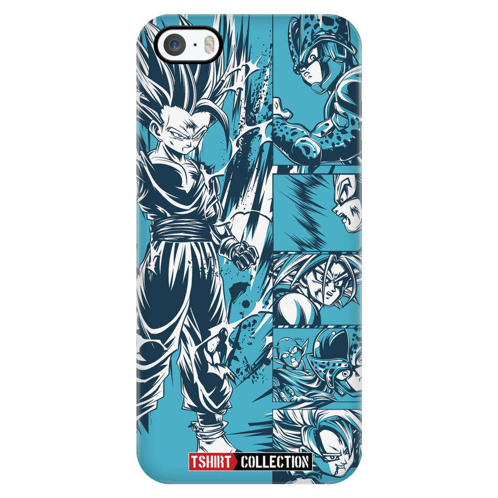 Super Saiyan Gohan iPhone 5, 5s, 6, 6s, 6 plus, 6s plus phone case - TL00022PC-BLACK