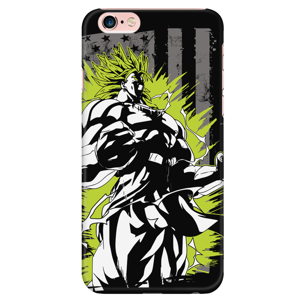 Super Saiyan American Broly iPhone Phone Case - TL00001PC-BLACK