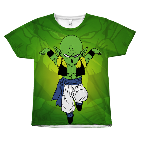 Super Saiyan - Piccolo Krillin Fusion Prillin - All Over Print T Shirt - TL00941AO