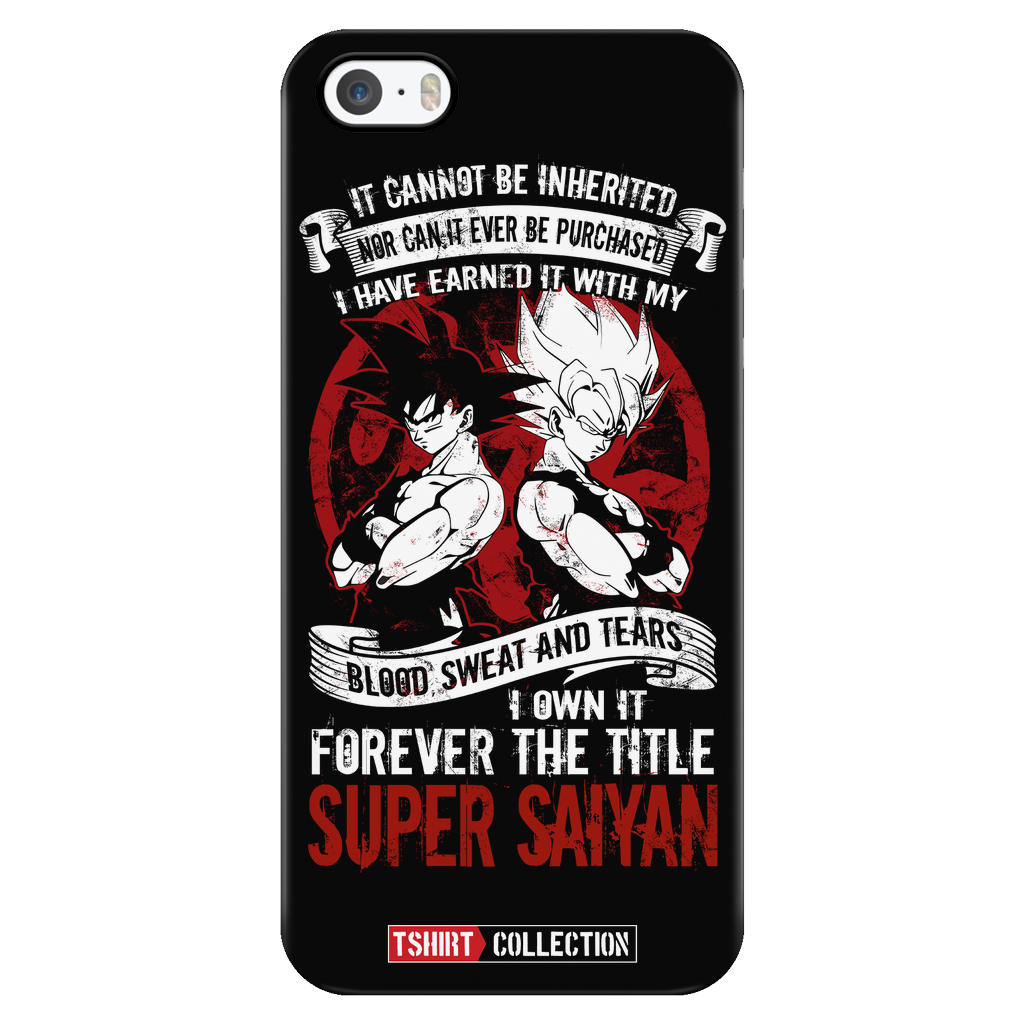 Super Saiyan Goku iPhone 5, 5s, 6, 6s, 6 plus, 6s plus phone case - TL00029PC-BLACK