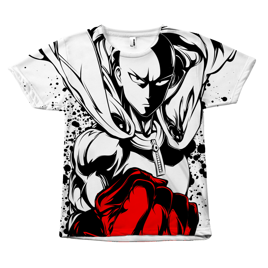 One Punch Man - Saitama - All Over Print T Shirt - TL00921AO