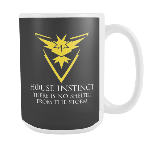 Pokemon house instinct there is no shelter from the storm 15oz Coffee Mug - TL00629M5