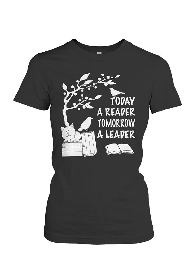Book Short Sleeve - READER - LEADER -Women Short Sleeve T Shirt - SSID2016