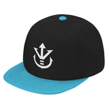 Super Saiyan White Vegeta Crest Snapback - PF00190SB - The Tshirt Collection - 2