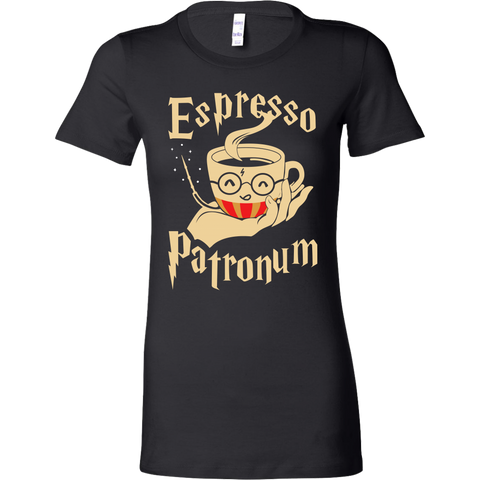 Harry Potter- Espresso Patronum -Women Short Sleeve T Shirt - TL01701WS