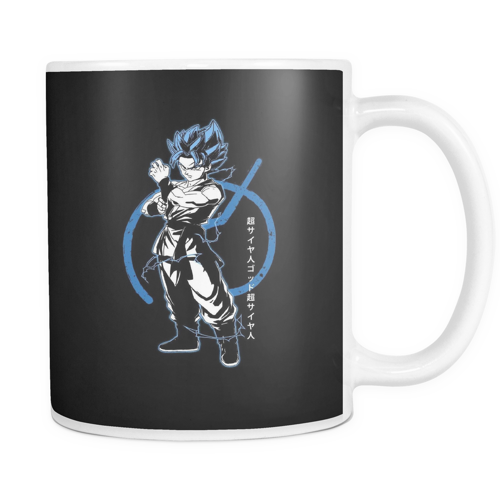 Super Saiyan Blue Goku God 11oz Coffee Mug - TL00015M1
