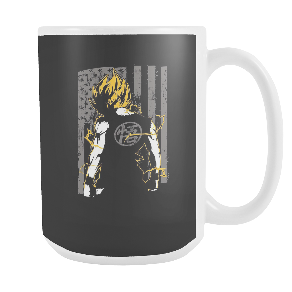 American Super Saiyan Goku 15oz Coffee Mug - TL00046M5 - The TShirt Collection