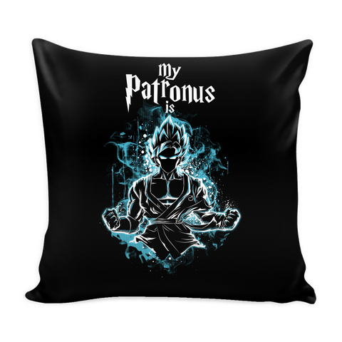 "Super Saiyan - My Patronus is Goku God  - Pillow Cover 16"" - TL00898PL"
