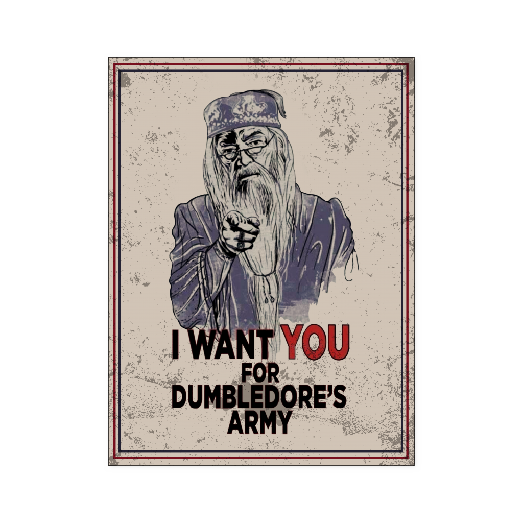 Harry Potter - I want you for dumbledore's army - Poster 18x24 - TL01195PO