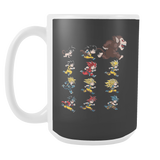 Super Saiyan - The Evolutions of Goku 15oz Coffee Mug - TL00041M5
