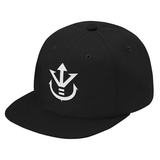Super Saiyan White Vegeta Crest Snapback - PF00190SB - The Tshirt Collection - 3