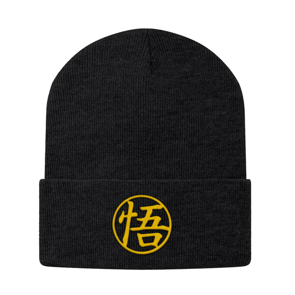 Super Saiyan Goku Golden Symbol Snapback - PF00180BN - The Tshirt Collection - 1