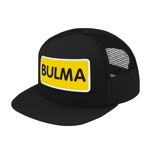 Super Saiyan Bulma Symbol Trucker Hat - PF00178TH - The Tshirt Collection - 1