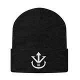 Super Saiyan Vegeta Crest Beanie White - PF00198BN - The Tshirt Collection - 1