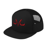Super Saiyan Majin Vegeta Symbol Trucker Hat - PF00186TH - The Tshirt Collection - 1