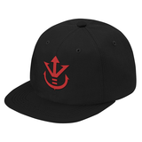 Super Saiyan Red Vegeta Crest Snapback - PF00188SB - The Tshirt Collection - 3