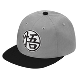Super Saiyan Goku Symbol Black and White Snapback - PF00182SB - The Tshirt Collection - 4
