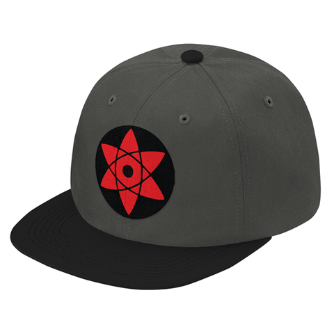 Naruto Sasuke Eye Symbol Snapback - PF00309SB - The TShirt Collection