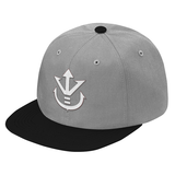 Super Saiyan White Vegeta Crest Snapback - PF00190SB - The Tshirt Collection - 6