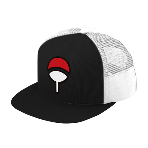 Naruto Uchiha Clan Trucker Hat - PF00300TH - The TShirt Collection