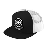 Super Saiyan Trunks Capsule Corp Trucker Hat - PF00189TH - The Tshirt Collection - 1