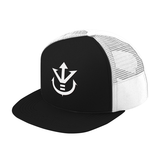 Super Saiyan White Vegeta Crest Trucker Hat - PF00198TH - The Tshirt Collection - 2