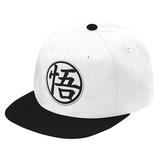 Super Saiyan Goku Symbol Black and White Snapback - PF00182SB - The Tshirt Collection - 6