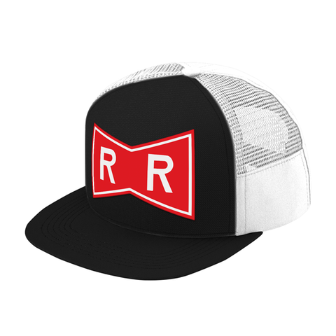 Super Saiyan Red Ribbon Symbol Trucker Hat - PF00187TH - The Tshirt Collection - 1