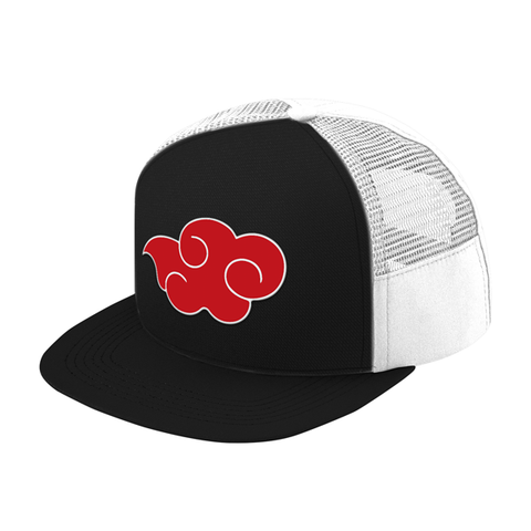 Naruto Akatsuki Symbol Trucker Hat - PF00302TH - The TShirt Collection