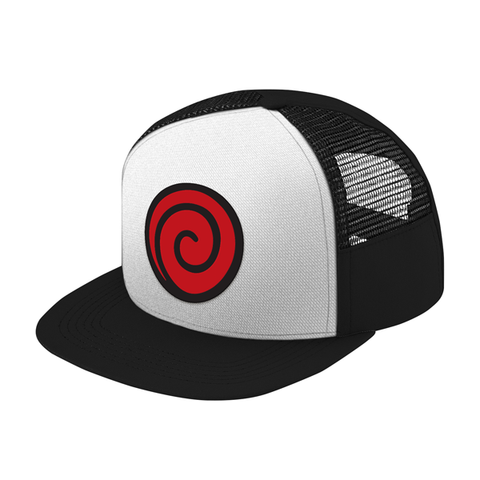 Naruto Uzumaki Clan Trucker Hat - PF00301TH - The TShirt Collection