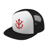 Super Saiyan Red Vegeta Crest Trucker Hat - PF00188TH - The Tshirt Collection - 2