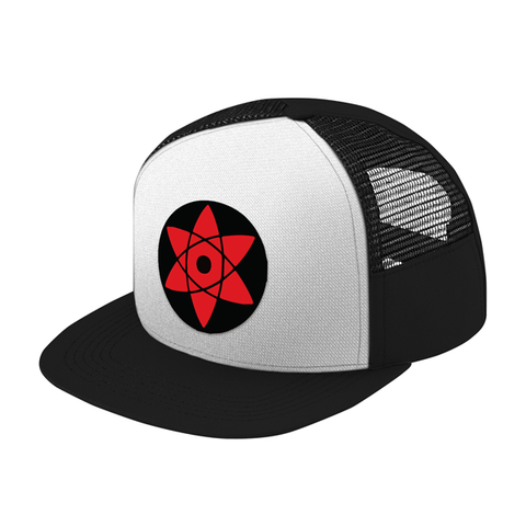 Naruto Sasuke Eye Symbol Trucker Hat - PF00309TH - The TShirt Collection