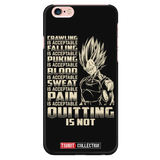 Super Saiyan Majin Vegeta Pain Is Acceptable Quitting Is Not Iphone Case - TL00561PC