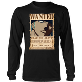 One Piece - Zoro Bounty - Unisex Long Sleeve T Shirt - TL01669LS