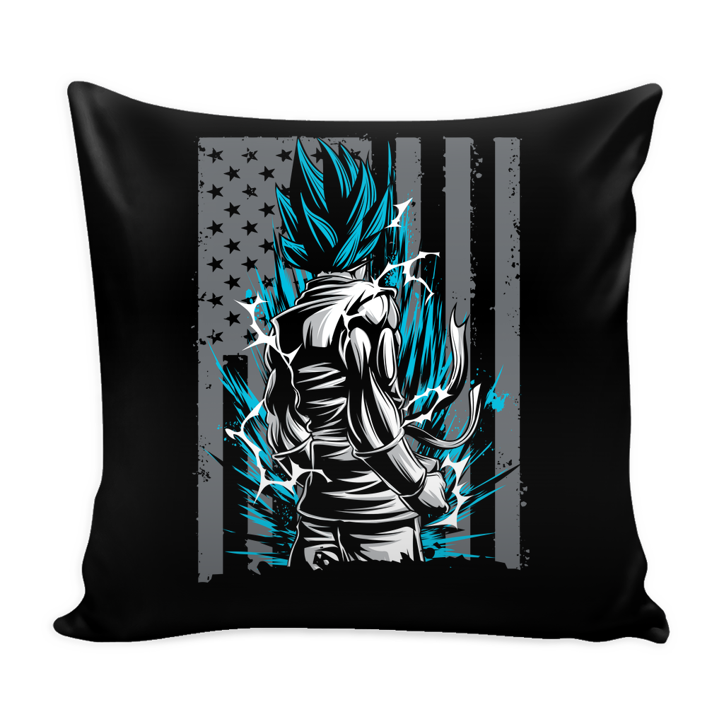 Super Saiyan God Blue Goku Pillow Cover 16'' - TL00002PL