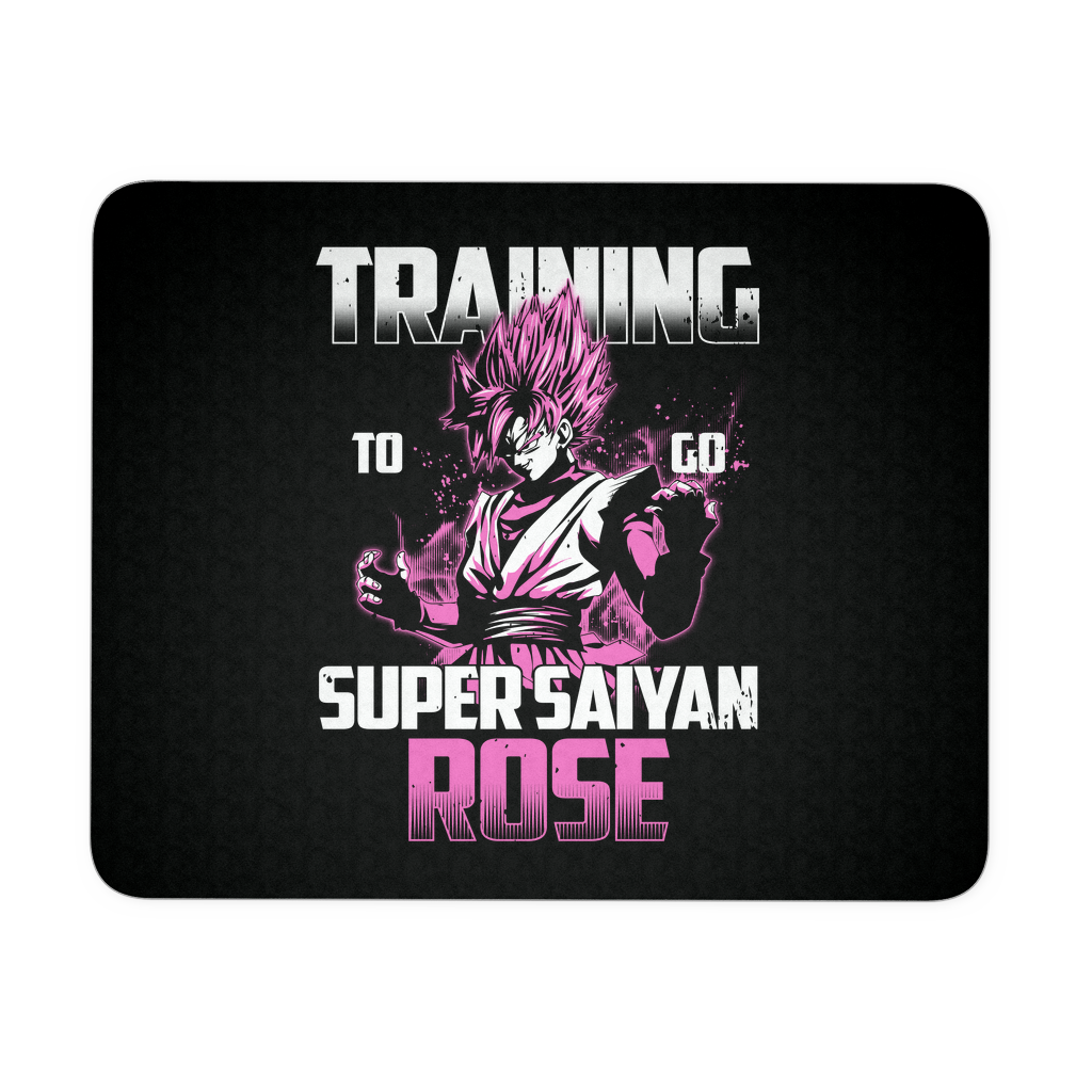 Super Saiyan - Training to go Super Saiyan Rose - Mouse Pads - TL00817MP