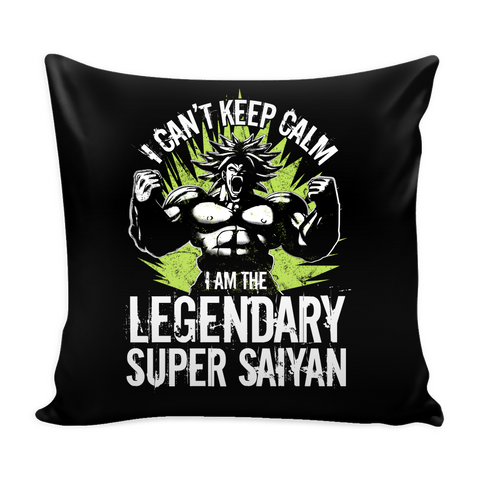 "Broly Legendary Super Saiyan Pillow Cover 16"" - TL00004PL - The TShirt Collection"