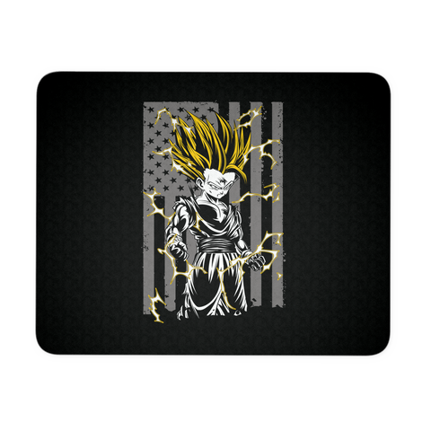 American Super Saiyan Gohan Mouse Pad - TL00003MP - The TShirt Collection