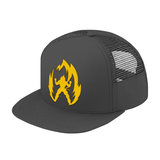 Super Saiyan Vegeta Gold Symbol Trucker Hat - PF00291TH - The Tshirt Collection - 4