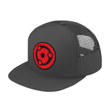 Naruto Madara Eye Symbol Trucker Hat - PF00307TH - The TShirt Collection