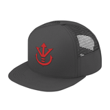 Super Saiyan Red Vegeta Crest Trucker Hat - PF00188TH - The Tshirt Collection - 3