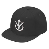 Super Saiyan White Vegeta Crest Snapback - PF00190SB - The Tshirt Collection - 7