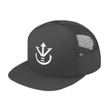 Super Saiyan White Vegeta Crest Trucker Hat - PF00198TH - The Tshirt Collection - 3