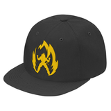 Super Saiyan Vegeta Gold Symbol Snapback - PF00291SB - The Tshirt Collection - 7