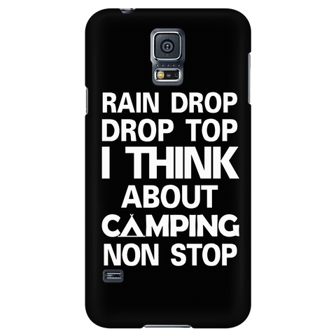 Camping - I think about camping non stop - Android Phone Case - TL01328AD